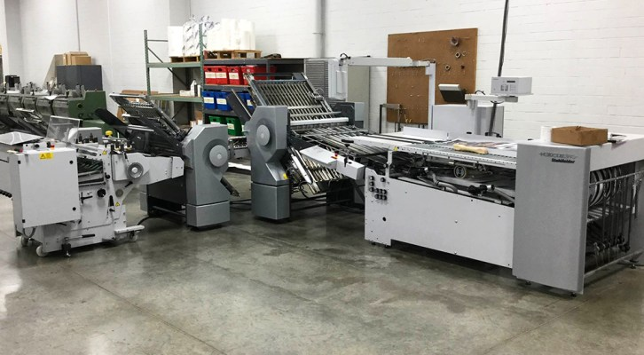 Graphic Visual Solutions Folds 1 Million Sheets in 4 Weeks with Heidelberg's Stahlfolder TH 82