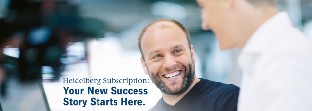 Heidelberg Subscription - Your New Success Story Starts Here.