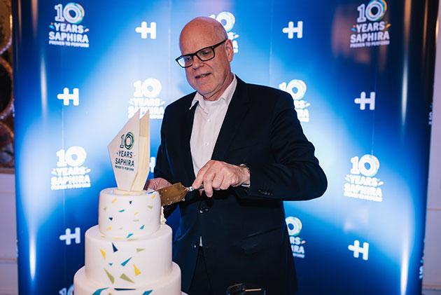 Rainer with Cake