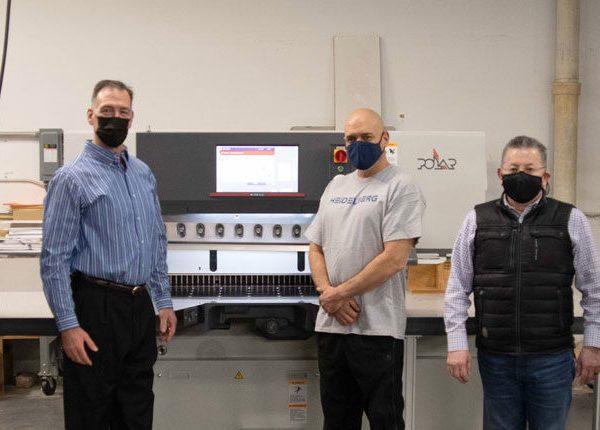 Braintree Printing & Peczuh Printing Start 2021 with New Heidelberg Finishing Installations