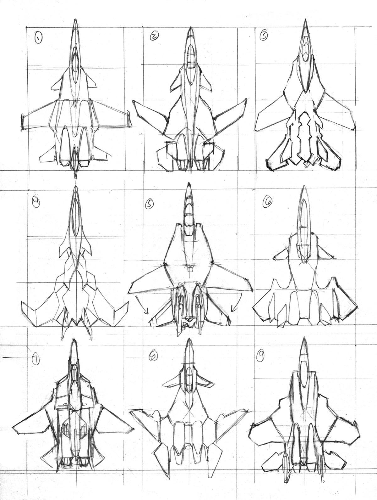 New Sky Striker Concept Art By Robert Atkins