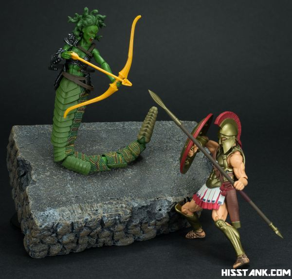 Boss Fight Studio Cursed Medusa Photo Shoot - HissTank.com