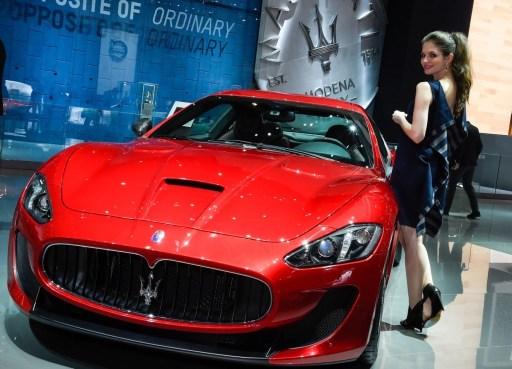 Maserati Geneva Motor Show Zegna Interior