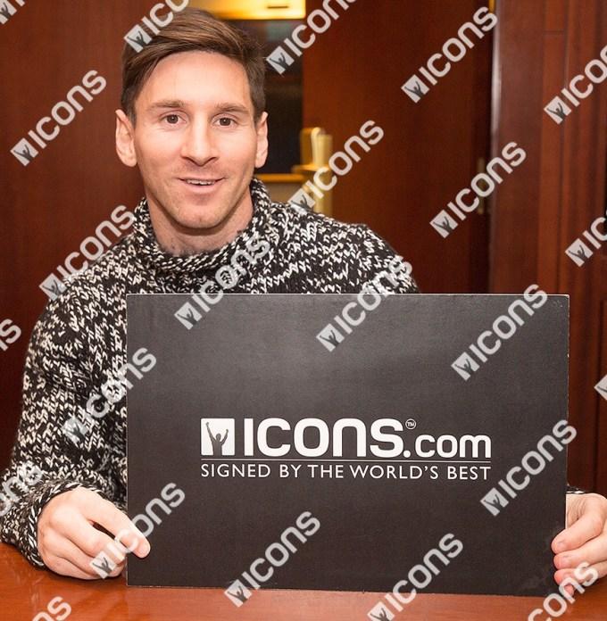 Lionel Messi Icons Memorabilia