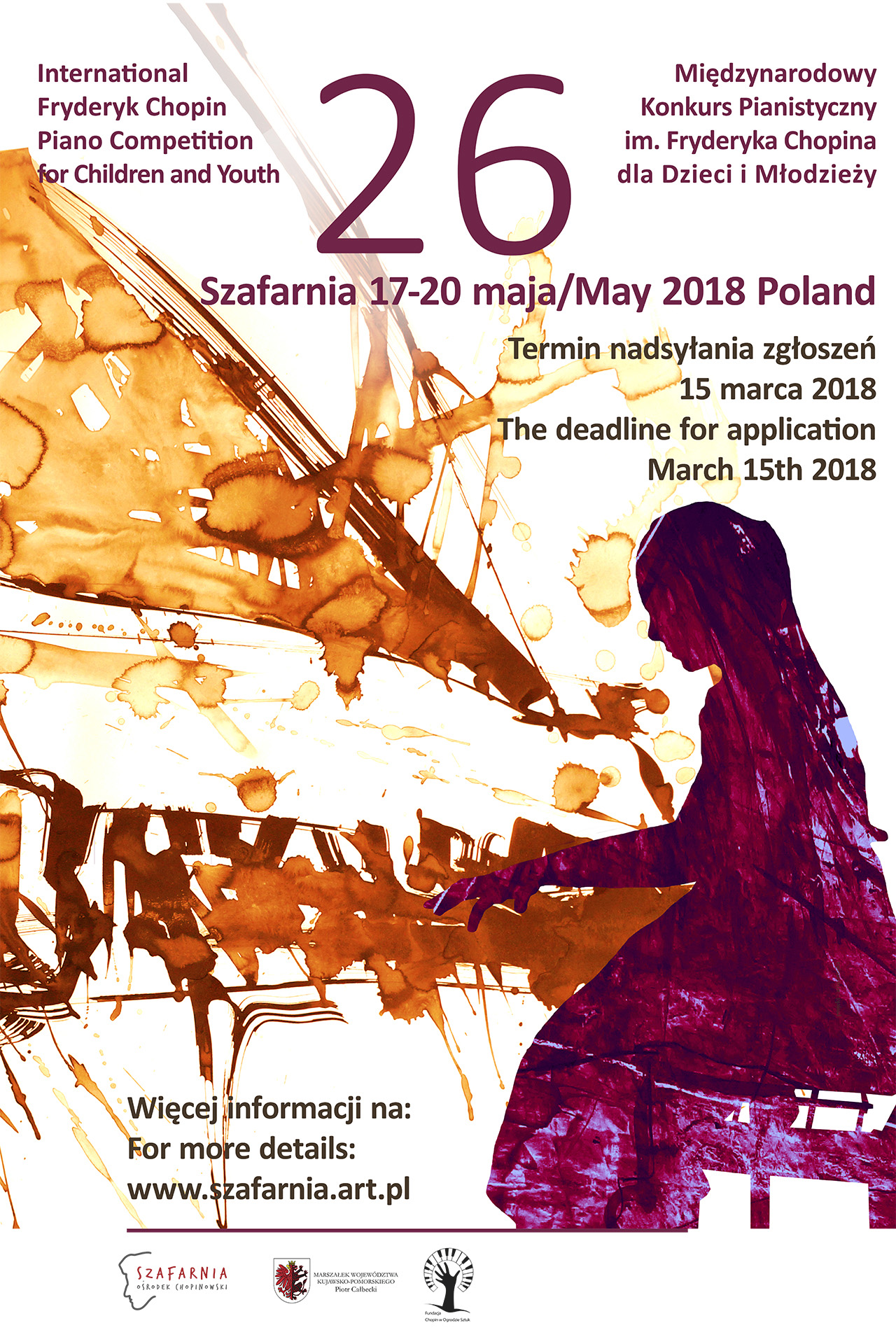 The 26th International Fryderyk Chopin Piano Competition for Children and Youth, Szafarnia 2018