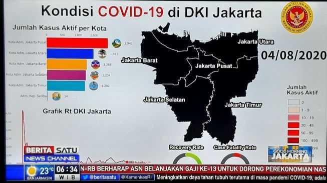 Beredar Gambar Peta Jakarta Zona Hitam dari BIN, Begini Respons Wagub DKI