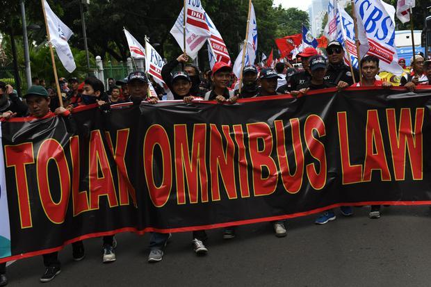 Ribuan Buruh Akan Melakukan Aksi Besar-besaran Pada 25 Agustus, Tolak Omnibus Law