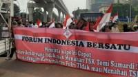 Massa aksi dari Forum Indonesia Bersatu (Foto: Rmol.id)