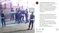 Heboh! Video Polisi Pukul Satpam Kampus Unisba Bandung