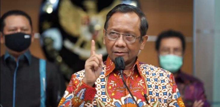 Mahfud MD Sindir Ketua Pro Jokowi-Amin Ambroncius Nababan sampai Keluar Kata 'Dungu'