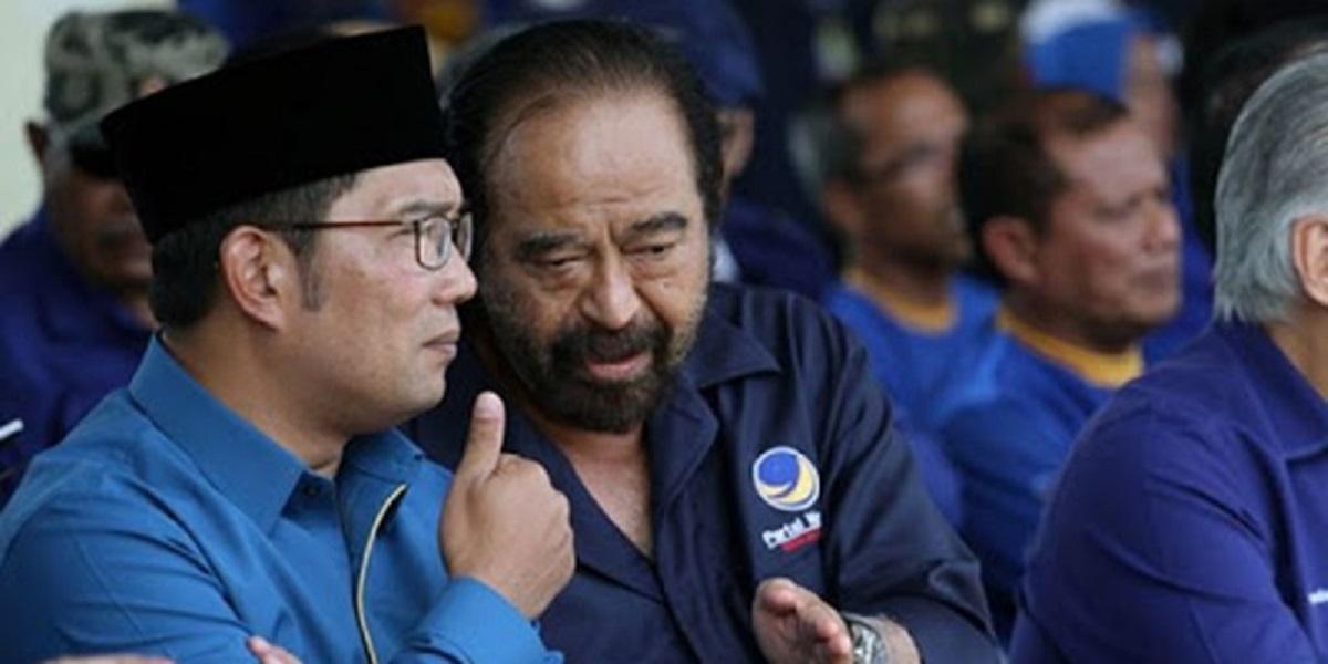 Ridwan Kamil Diisukan Merapat Ke Golkar, Nasdem Santai
