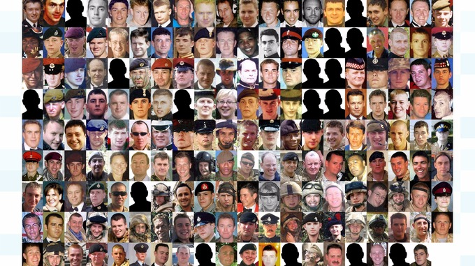 Image result for scottish soldiers casualties images