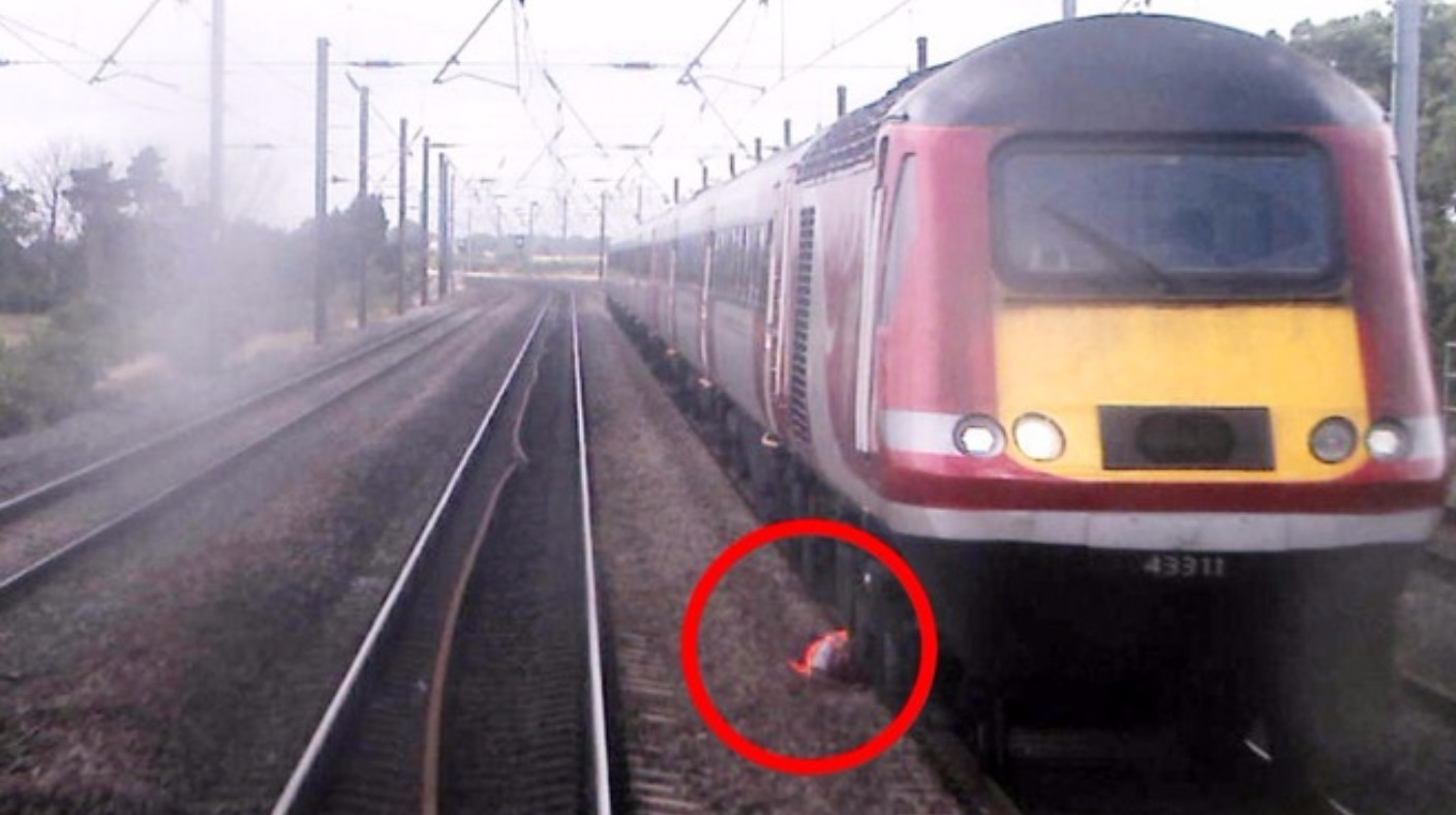 Man Avoids Being Hit By Train Travelling At 105mph With