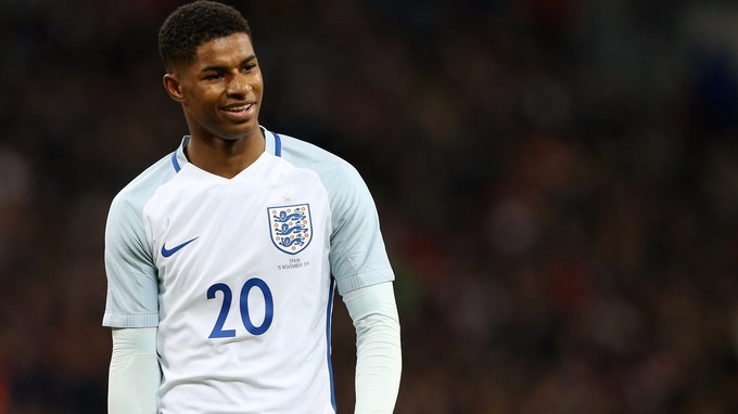 Image result for rashford england