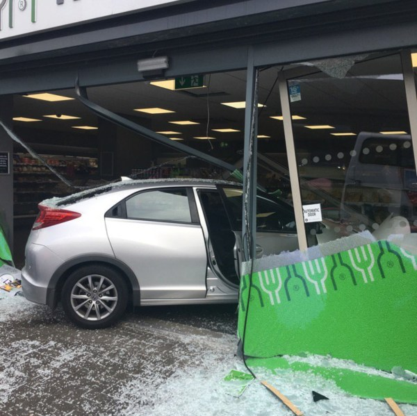 Car crashes through shop window in south Belfast | UTV ...