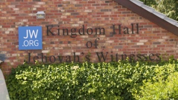 O Salão do Reino das Testemunhas de Jeová em Honiton. Crédito: ITV News