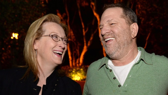 Meryl Streep has condemned her former producer Harvey Weinstein.