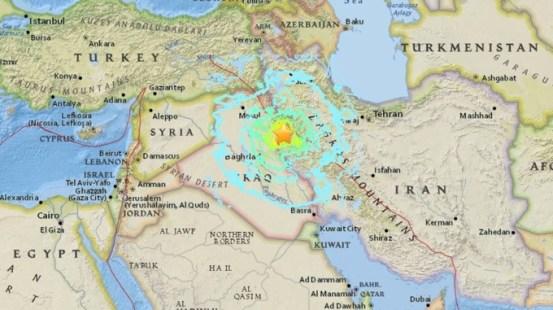 Risultati immagini per earthquake Iran-Iraq