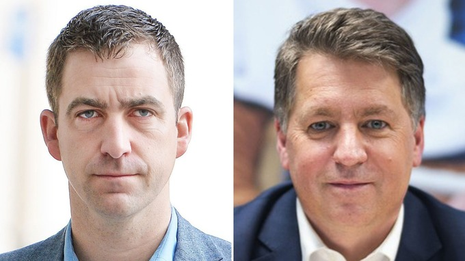 Image result for Justin Forsyth and Brendan Cox.