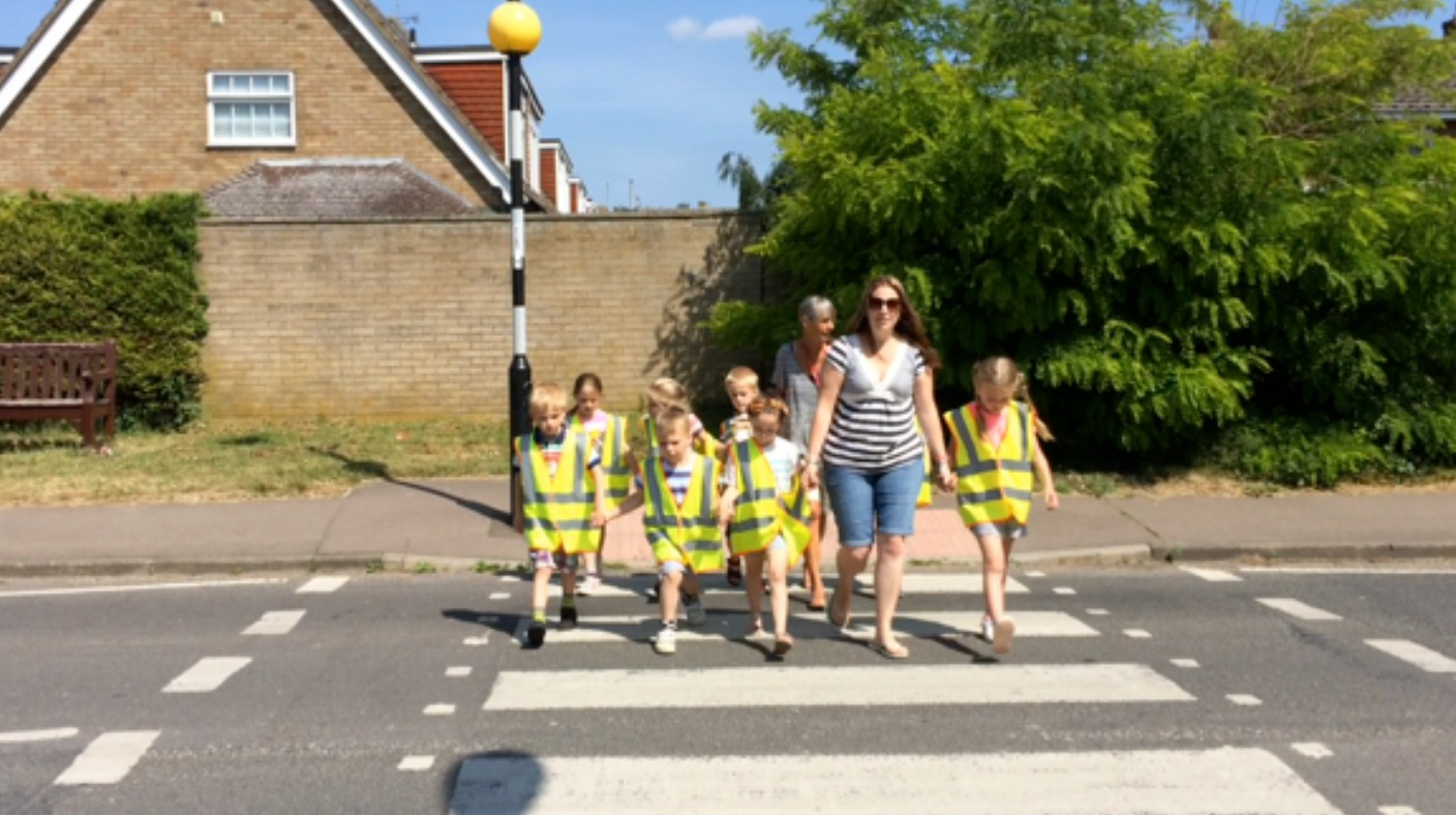 Lessons In Road Safety As Primary School Children Join