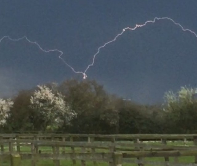 The Met Office Has Issued A Yellow Weather Warning For The Risk Of Thunderstorms In The