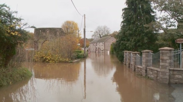 Heavy rain and gales bring flooding and travel disruption ...