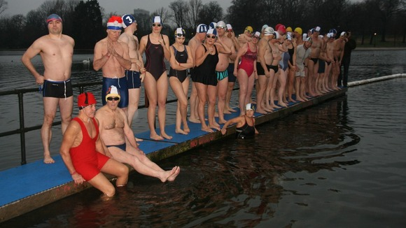 150th annual Peter Pan Cup swimming race