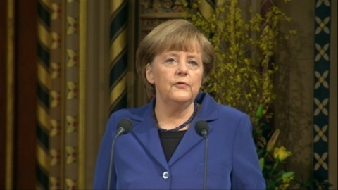 Merkel: Need a strong UK with a strong voice inside the EU ...