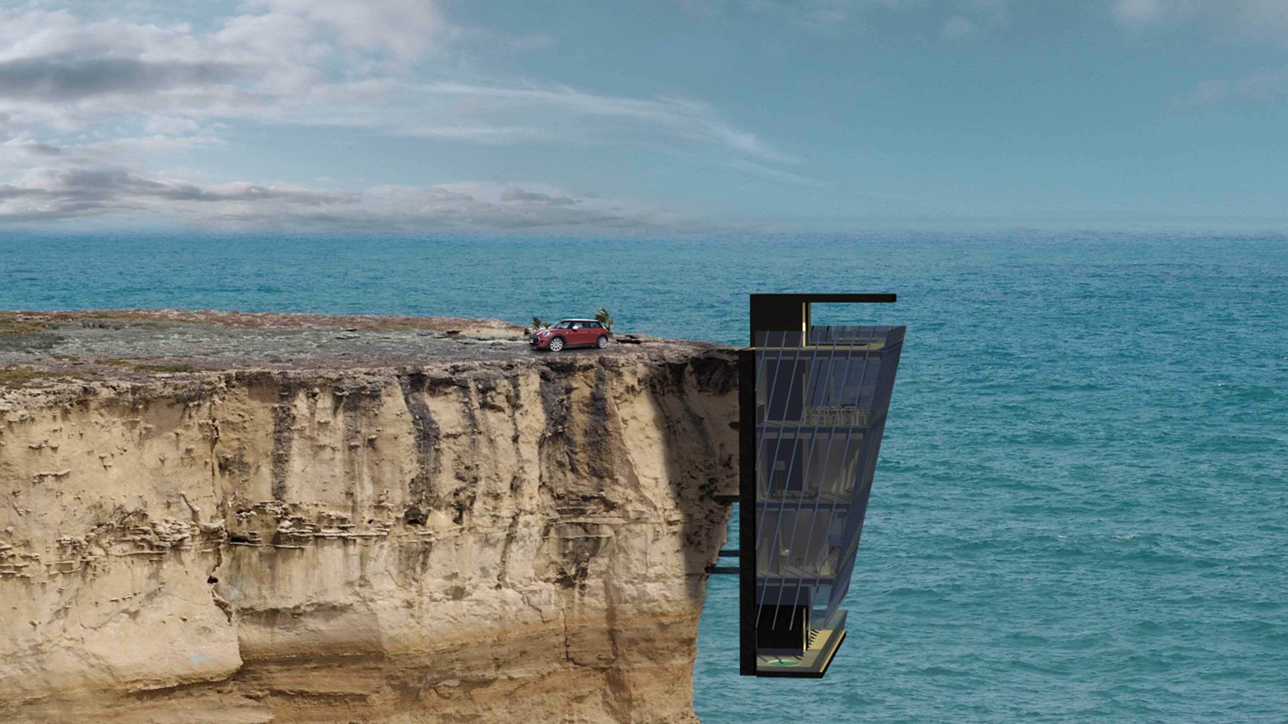 Life On The Edge Designers Create House Which Hangs Off Cliff ITV News
