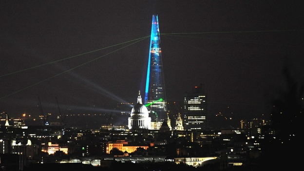 The Shard and St Paul's Cathedral