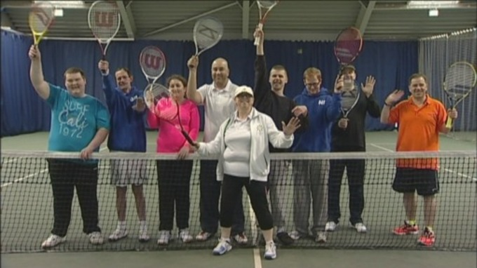 North East Visually Impaired Tennis Club won Club of the Year