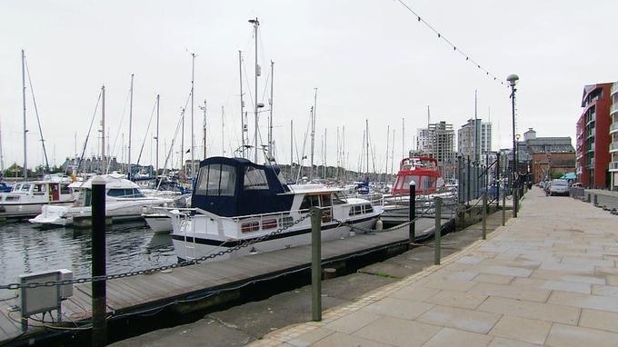 Ipswich Marina.