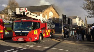 Investigations Begin Into Cardiff City Road Fire ITV News