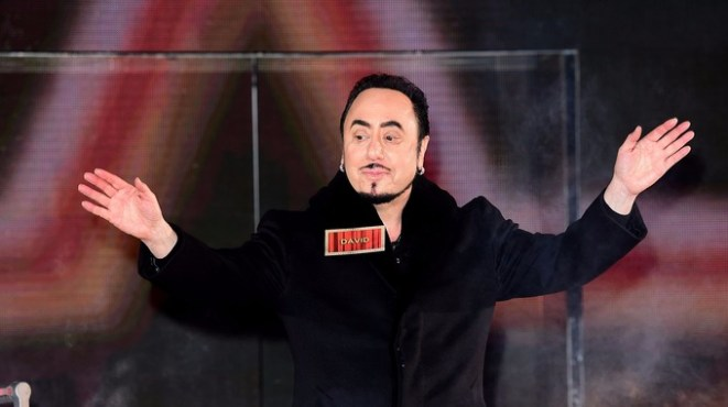 Gest going into the Celebrity Big Brother house in January this year.
