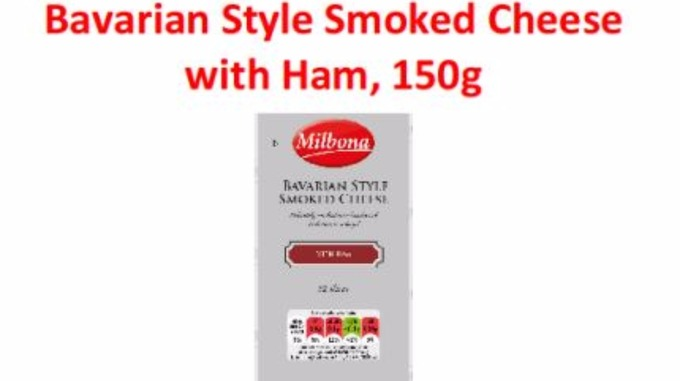 Bavarian Style Smoked Cheese with Ham