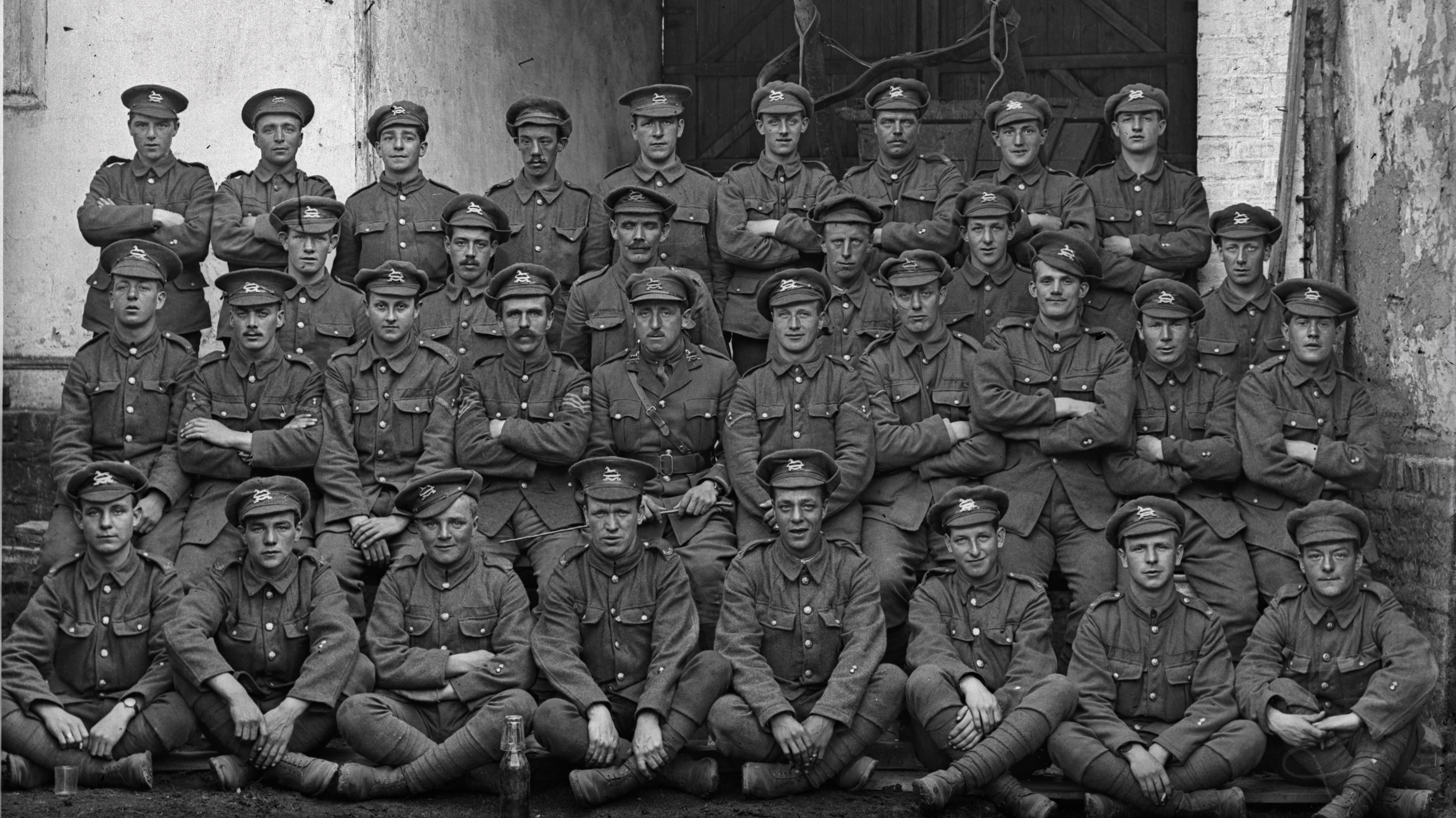 Thousands Of Photos Of First World War Sol Rs Showing