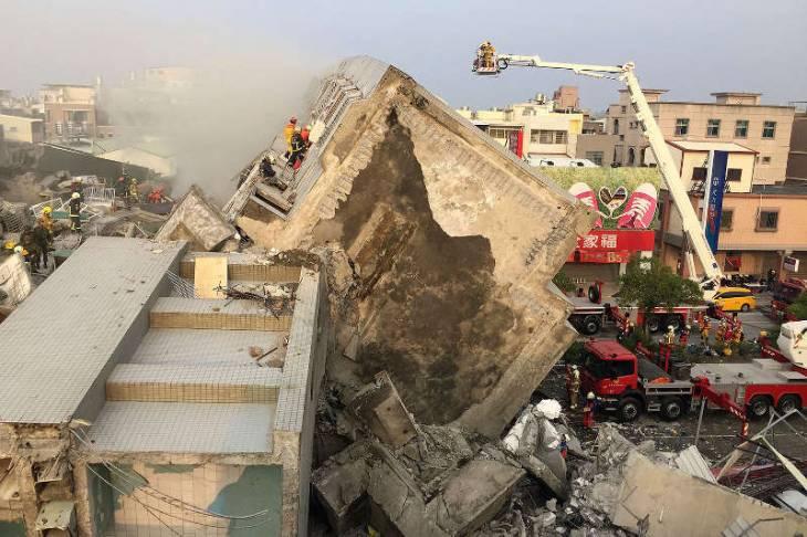 Япония готова оказать Тайваню помощь после землетрясения