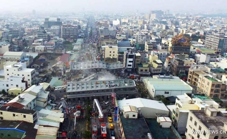 Землетрясение на Тайване не нанесло ущерба технопаркам