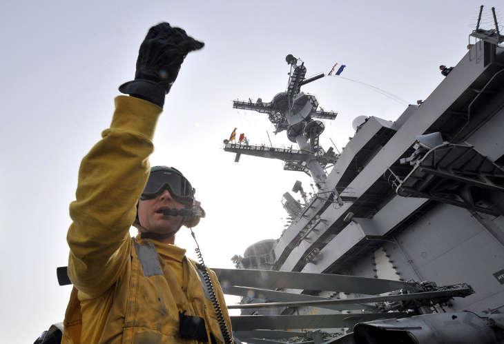 Патруль ВМС США прибыл в акватории Южно-Китайского моря, где оспариваются острова Китаем и Тайванем