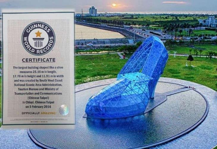 Тайваньская хрустальная туфля попала в Книгу рекордов Гиннесса