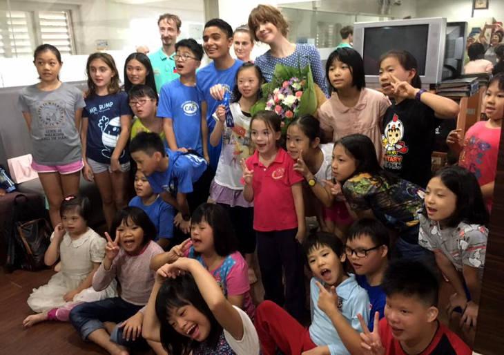 На Тайване прошел турнир по синхронному плаванию