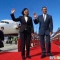 Президент Цай Инвэнь вернулась из поездки по странам Центральной Америки