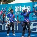 У тайваньских лучниц «золото» в командном турнире на этапе Кубка мира
