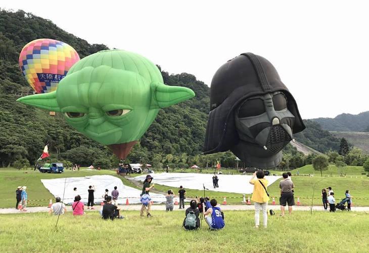 Йода и Дарт Вейдер на Тайване