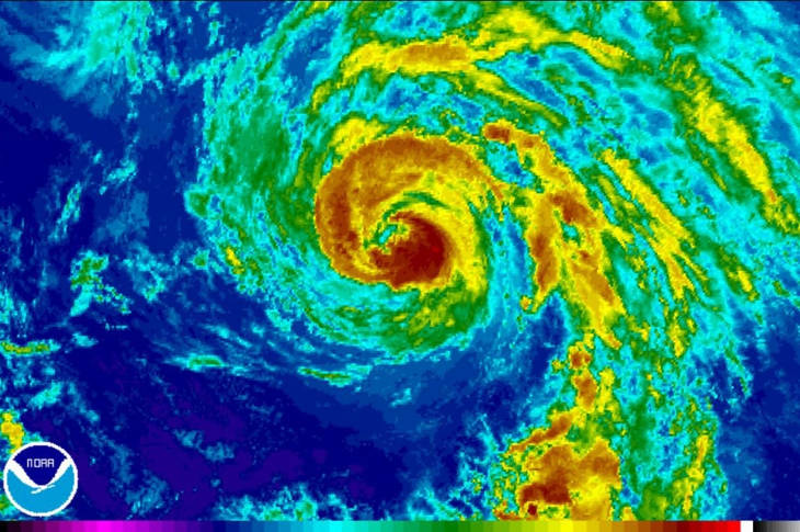 Шторм Несат обрушится на Тайвань в выходные