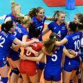 Уверенная победа волейболисток из России на Универсиаде