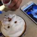 Кофе с портретом питомца для хорошего настроения
