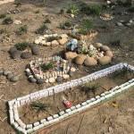 Тайванька установила на кладбище кости для игры в маджонг
