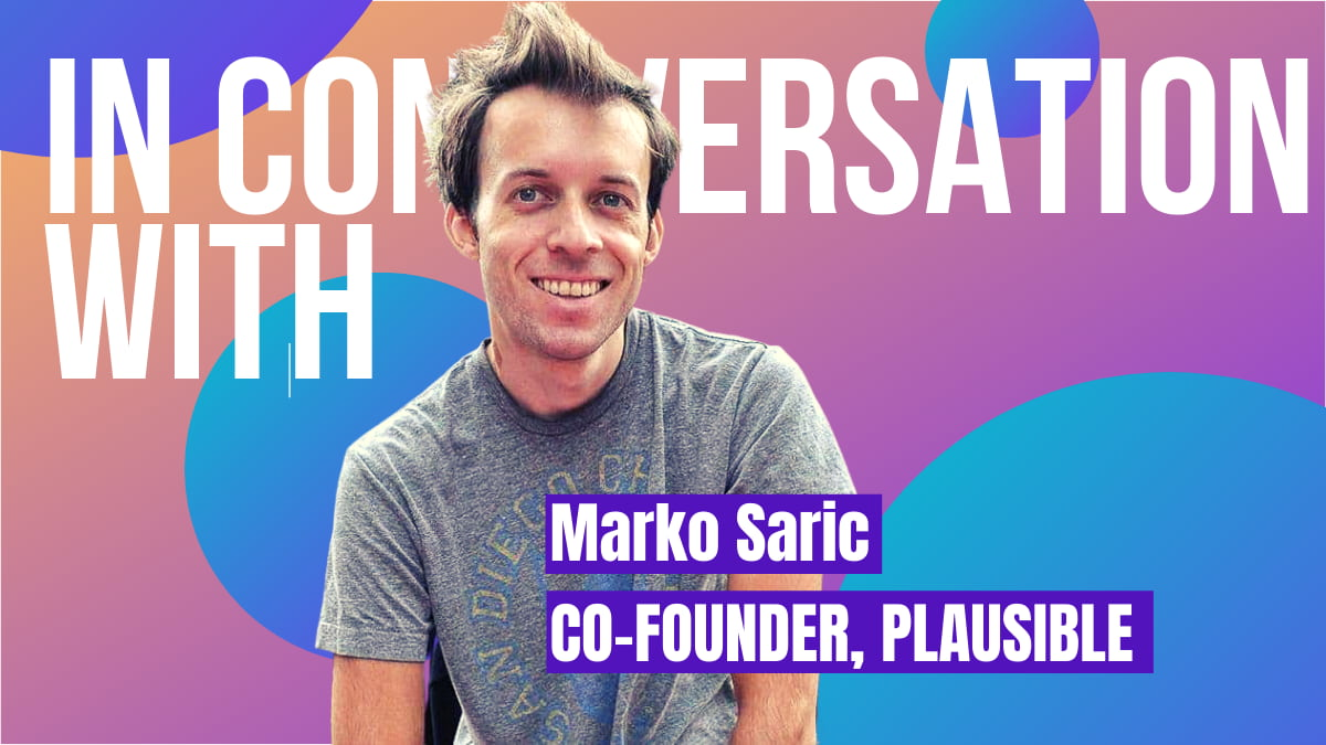 Interview with Plausible founder Marco Saric