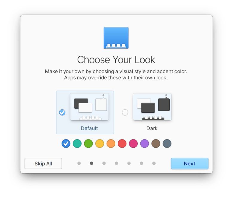 Choose accent color in elementary OS 6